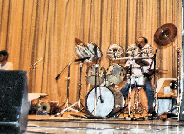 Ghanshyam Thakkar on Drums